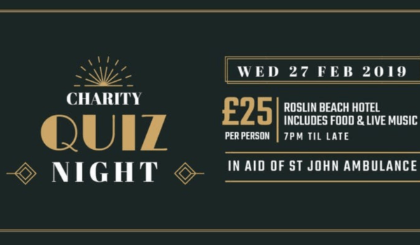St John Ambulance Quiz Night